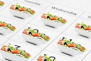 Однообразное меню благоприятствует похудению
