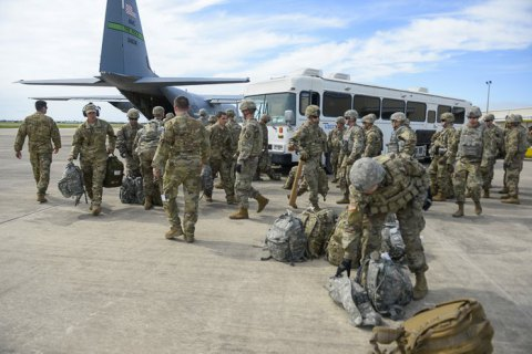 Очолювана США коаліція почала виведення військ із Сирії