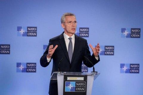 Генсек НАТО требует от РФ ответить на вопросы об отравлении Навального