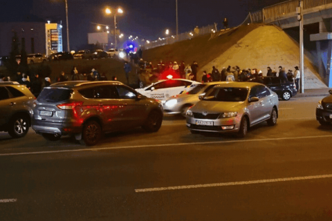 В Киеве остановят движение по проспекту Победы на выходные (схема объезда)