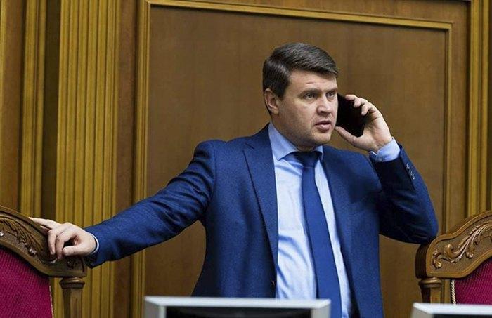 Вадим Івченко під час засідання парламенту