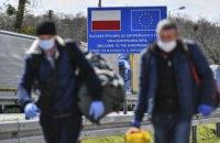 У Польщі за цей вікенд зросла кількість нових хворих на коронавірус
