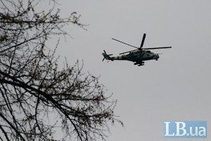 В Харьковской области упал вертолет, - источник
