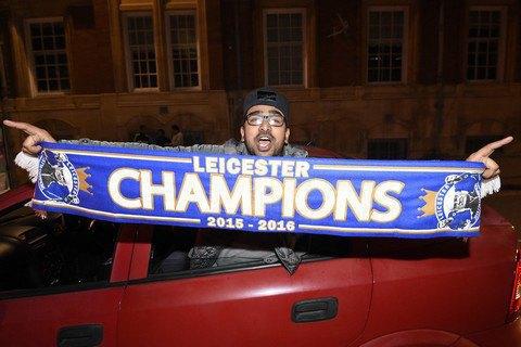 """""""Лестер"""" став чемпіоном Англії з футболу"""