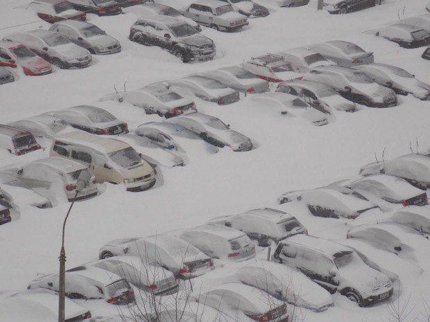 Киевская парковка