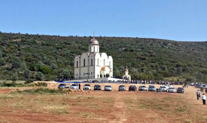 Храм в честь святителя Луки Крымского в греческом городе Нафплион.
