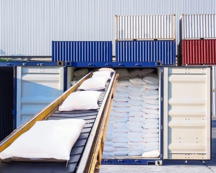 Cахар составлял 43,7 % всего экспорта Украины в Великобританию морскими контейнерами в 2018 г.