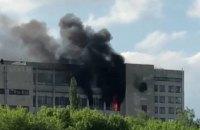 """У Харкові сталася пожежа на заводі """"Комунар"""""""