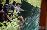 Активисты демонтировали забор, ограничивающий доступ к озеру Вырлица