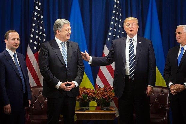 Трамп попросил Порошенко превосходно обращаться синвесторами изсоедененных штатов