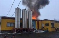 На маслосырзаводе в Тульчине горел сырный цех