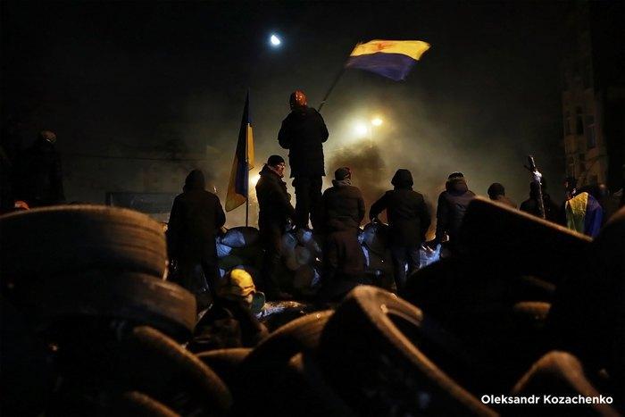 Протесты на Грушевского