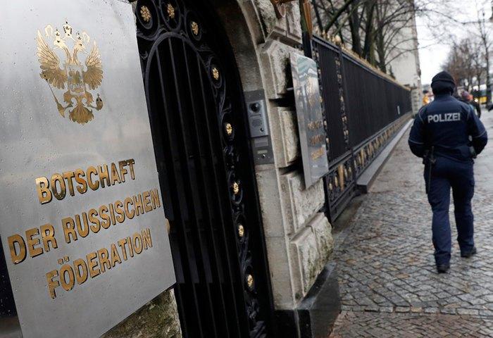Здание посольства России в Берлине
