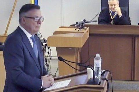 Апелляционный суд оставил под арестом экс-главу МИДа Кожару