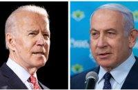 Байден и Нетаньяху провели телефонный разговор после удара Израиля по бюро международных СМИ в Газе