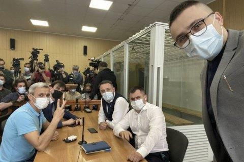Суд оправдал Стерненко и Демчука по одной из статей