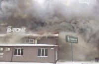 У Сумах сталася пожежа в спортклубі В-tone