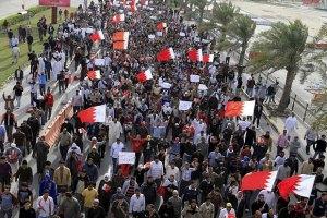 Вторая годовщина восстания в Бахрейне началась с беспорядков, есть жертвы