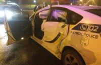 Пятеро полицейских получили травмы в Киеве и Ровно