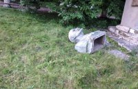 На Хмельниччині демонтували два пам'ятники Леніну