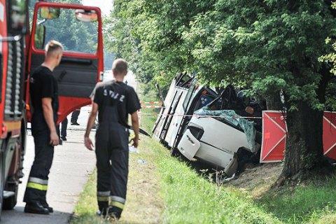 У Польщі розбився автобус з українськими номерами, є загиблі (оновлено)