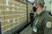 На кордоні з Білоруссю виявили рекордну партію контрабандних сигарет
