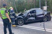 У Києві сталася аварія за участю 9 авто, є постраждалі