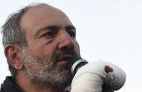 Лидер протестов в Армении объявил о начале бархатной революции