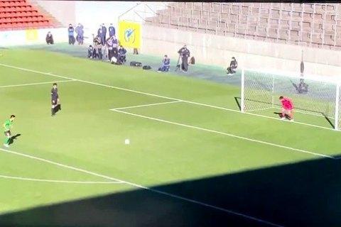 В Японии забит самый медленный пенальти в истории футбола