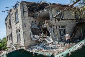 У Слов'янську зруйновані 169 будинків і 190 квартир - ОДА