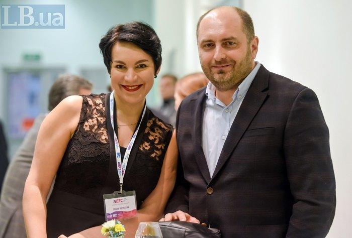 Соня Кошкина и Дмитрий Кириченко