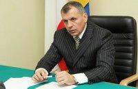 Спикер крымского парламента находится в захваченном здании, - Могилев