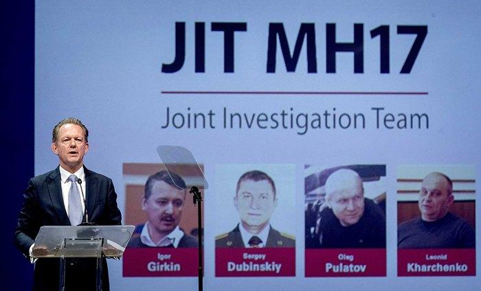 Глава Совместной следственной группы (JIT) Фред Вестербейке во время пресс-конференции, в Ньювегейне, Нидерланды, 19 июня 2019 г.