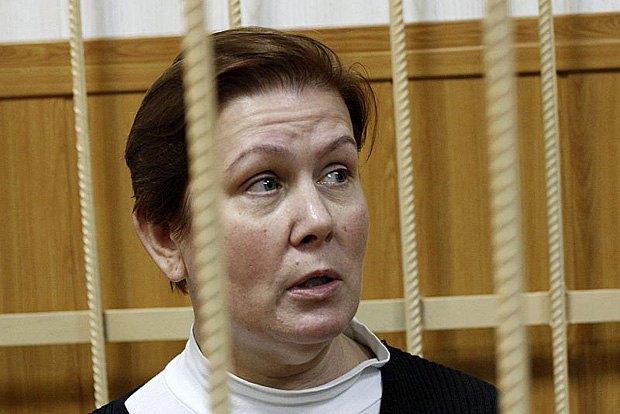 Наталия Шаріна на суді
