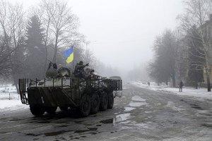 Двох військовослужбовців 40-го батальйону поранено під Дебальцевим