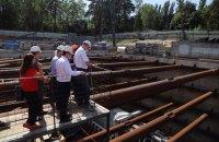 Кличко запустив прокладання тунелю метро на Виноградар