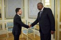 Зеленський зустрівся з міністром оборони США