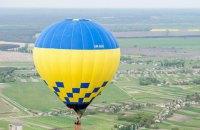 Во Львовской области мужчина выпал с воздушного шара и погиб