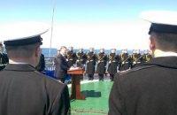 Порошенко анонсував переведення флоту на стандарти НАТО (оновлено)