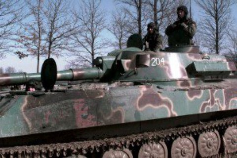 СММ ОБСЄ зафіксувала в ОРДЛО важке озброєння поза місцями зберігання