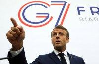 Лідери G7 уповноважили Макрона вести діалог з Іраном
