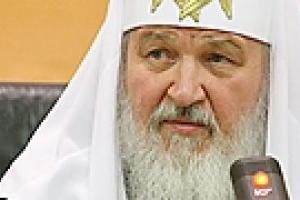 Патриарх Московский удивлен реакцией националистических сил Украины на его визит