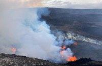 На Гаваях прокинувся один із найактивніших у світі вулканів Кілауеа
