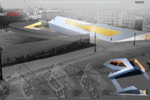 Компания Ахметова предложила студентам показать, что они хотят построить на Андреевском спуске
