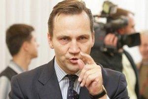 Сикорский считает, что Украина дискредитирует посреднические миссии Европы