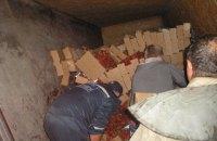 В Запорожской области перевернулась фура с клубникой