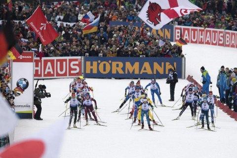 Українські біатлоністки фінішували відразу за норвежками в естафеті на етапі Кубка світу