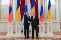 Порошенко розраховує на активнішу роль ОБСЄ у питаннях Донбасу, Криму та Азово-Чорноморської акваторії