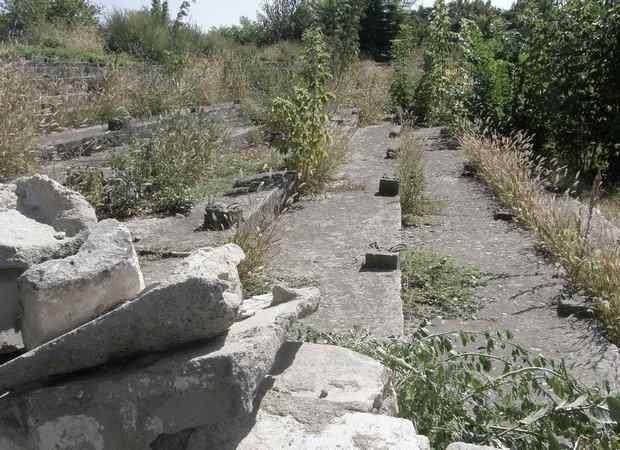 Трибуны стадиона Спартак