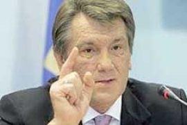 Ющенко потребует изменить милицейскую верхушку
